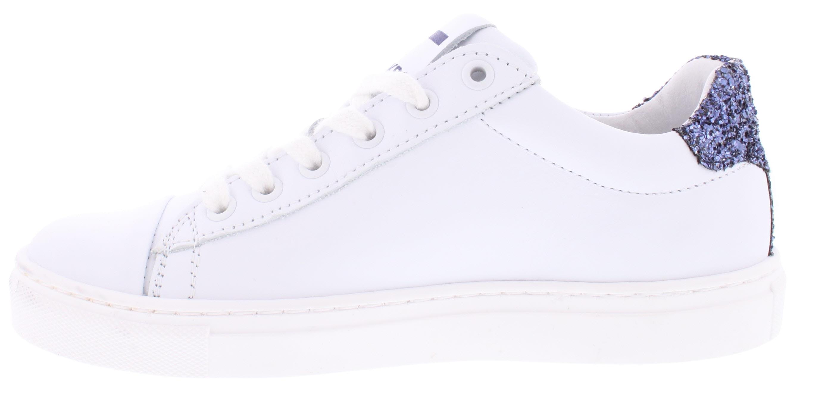 31fdac9bf62 Wit Gladleren Piedro Sneaker   1117625110 - 9906 - Piedroshop.nl